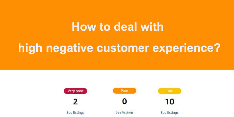 High Rate Of Negative Customer Experiences