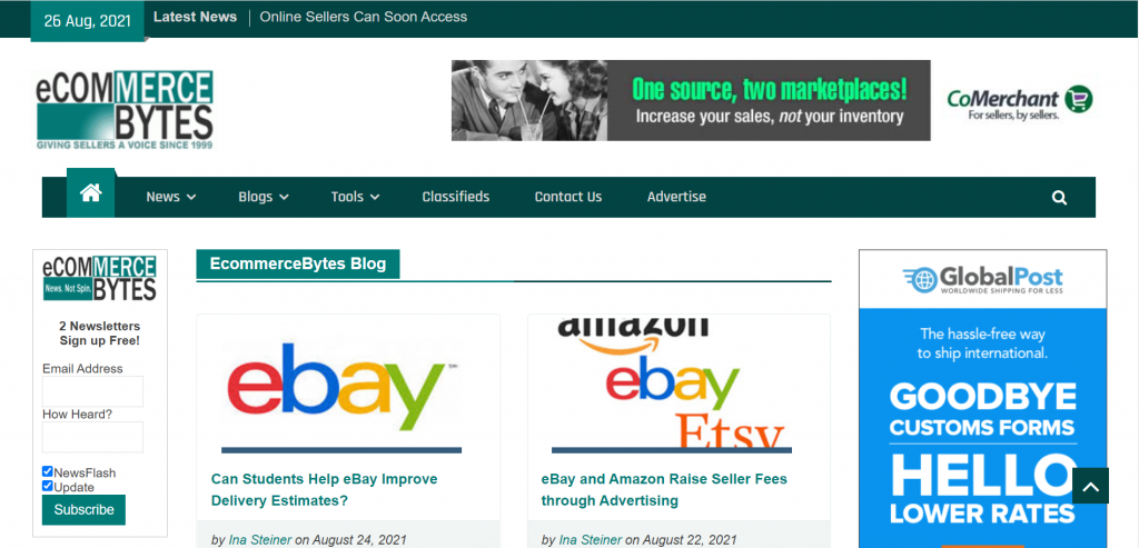 Amazon seller blog-eCommerce Bytes