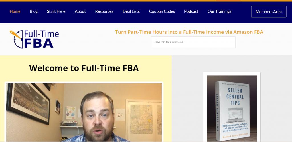 Amazon seller blog-full-time fba