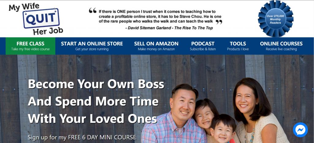 Amazon seller blog-My Wife Quit Her Job