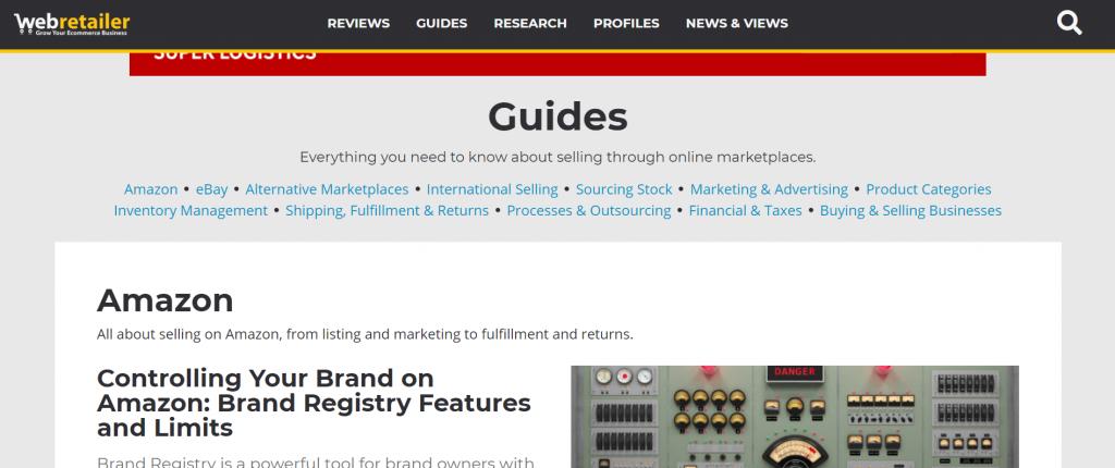 Amazon seller blog-Web Retailer