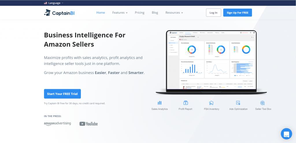 Amazon accounting software-Captain BI