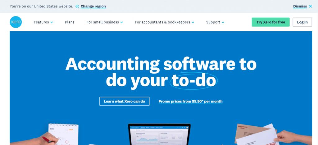 Amazon accounting software-Xero